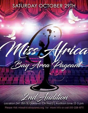 California Bay Area Pageant Auditions